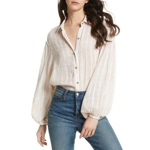 Free People Headed To Highlands Button Down Top